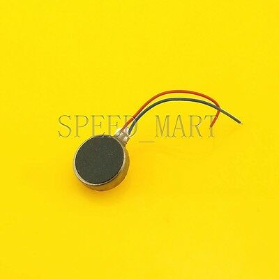 Pager and Cell Phone Mobile Coin Flat Vibrating Micro Motor DC 3V 8mm