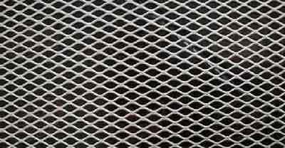 """Alloy 304 Expanded Stainless Steel Sheet - 3/4"""" #9 Flat, 24"""" x 24"""""""