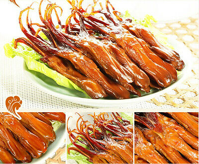 10 x Chinese delicious specialty food Snack Spicy Sauce Duck Tongue-善味阁鸭舌