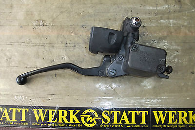 2003 BMW Motorcycle F650CS F 650 CS Master Cylinder Hand Brake Lever Assembly