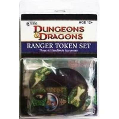 D&D Dungeon and Dragons RANGER Token Set - Manuale del giocatore NUOVO