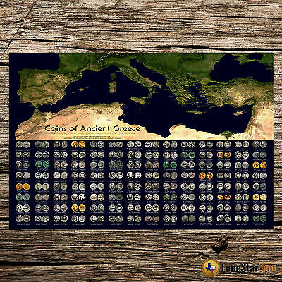 Coins Of Ancient Greece - Coin Wall Poster