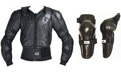 Body Armour Motorcycle Motocross Dirt bike MX Pressure Suit off road with Knees