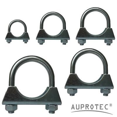 Exhaust U Bolt Clamp M8 or M10 Bosal Pipe Clamps Ø 28 mm - 135 mm