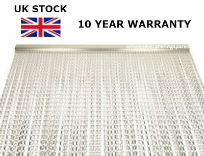 SILVER Aluminium Metal Chain Fly Pest Insect Door Screen Curtain Control NEW
