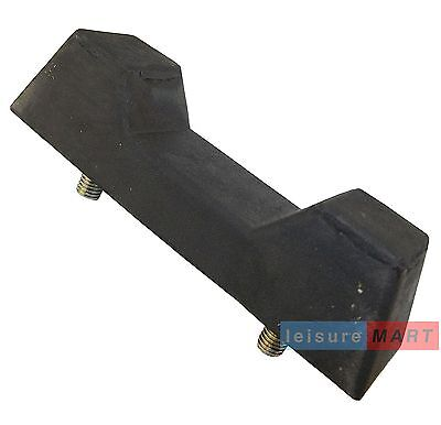 Boat trailer keel Block with 2 x moulded M10 studs lmx255
