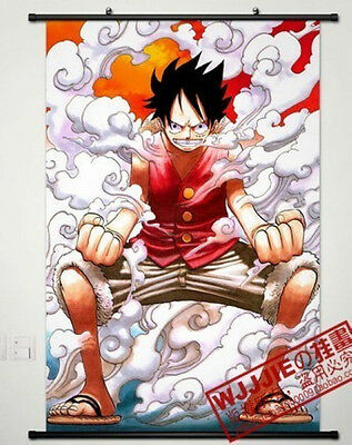 One Piece Decor Japanese Anime Poster Wall Scroll HZ124 60*90CM