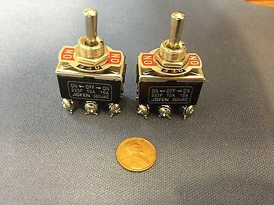 2 Pieces (Black) DPDT momentary switch on/off/on motor reverse 30 FLASH FOG LIGH