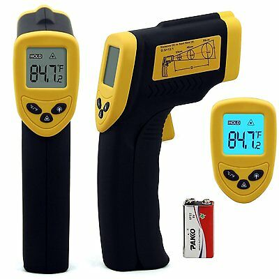 Infrared Temperature Gun Cooking Thermometer Digital Laser Non-Contact Handheld