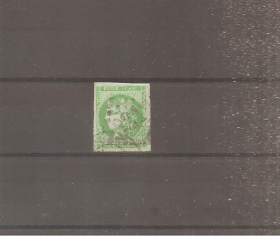 Timbre France Frankreich Bordeaux 1870 N°42B Oblitere Used