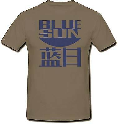 Firefly Blue Sun 100% Cotton Unisex T Shirt