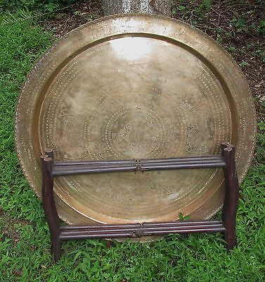 Nice Old or Antique Chinese Folding Tray Table .