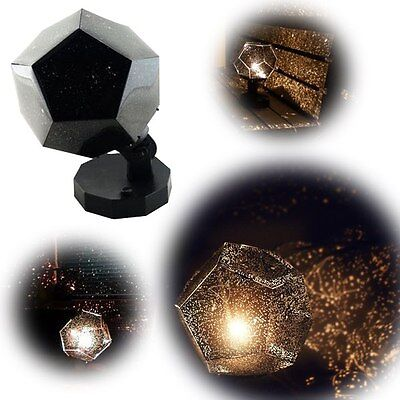 Romantic Astro Star Sky Laser Projector Cosmos Night Light Lamp Home Decor Gift