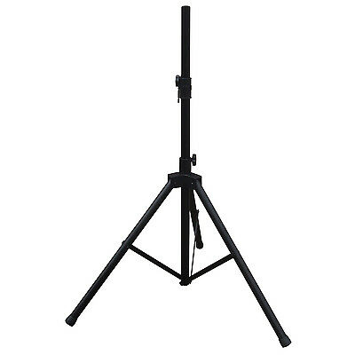 NJS062 Black 35mm Heavy Duty Adjustable Aluminium Tripod PA Speaker Stand