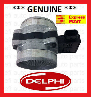 New Genuine Delphi Holden Commodore Vy Crewman Air Flow Mass Meter 3.8L V6
