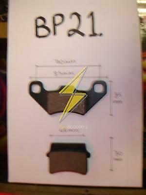 Brake pads BP21  Petrol scooters Quad/Dirt/ Pit Bike/scooter /part etc