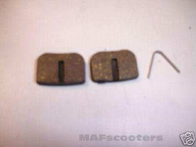 Brake pads for  Electric /petrol scooters and midi moto part