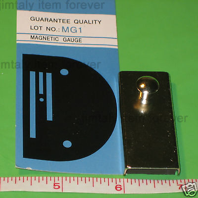 """MAGNETIC SEAM GUIDE #MG1 for all sewing machine  2"""" X 7/8"""""""