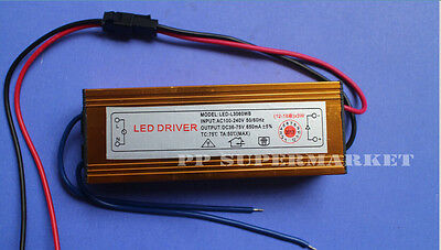 Constant Current Driver for 12-18x 3W 3W High Power LED AC100-240V 650mA