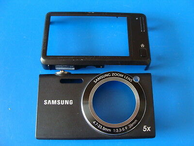 SAMSUNG SH100 BLACK FRONT & BACK CASES COVER FOR REPLACEMENT REPAIR PART