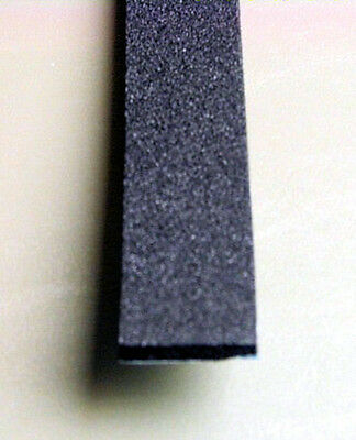 """1/4"""" x 1"""" Neoprene Foam Rubber with Adhesive Back            NFR.250-1-AB"""