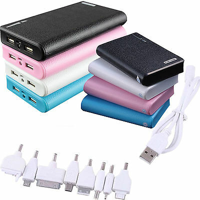 30000mAh 50000mAh External Power Bank Backup USB Battery Charger for iPhone HTC