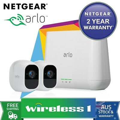 Brand New Arlo Pro 2 Wire-Free HD Camera 2 Security System VMS4230P