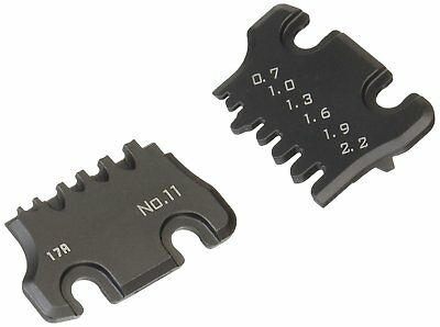 pad-11s interchangeable size 'S' die plate set for Engineer Inc Handy crimp tool