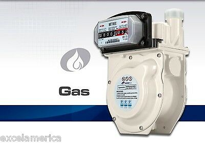 Gas Meter Propane Natural Gas Ideal for Laboratory  SUBMETER lease tenants G1.6