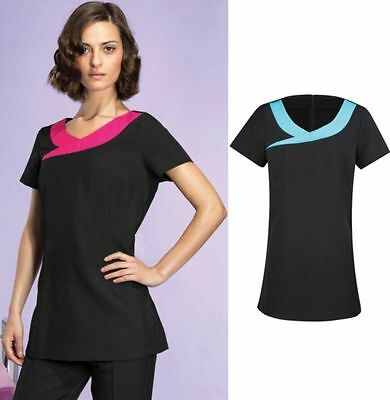 PREMIER WORKWEAR DAMEN TUNIKA Beauty & Spa Tunic Ivy ARBEIT Knöpfe - 36-52(2)