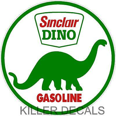 "12"" Older Sinclair Gasoline Decal Gas And Oil Lubster"