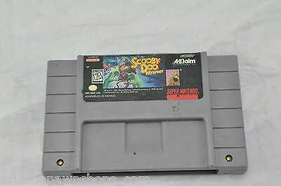 Scooby-Doo Mystery  (Super NES, 1995) CARTRIDGE ONLY