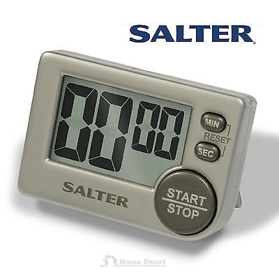 Salter Digital Cooking Timer Big Button for Kitchen Magnetic or Free Stand