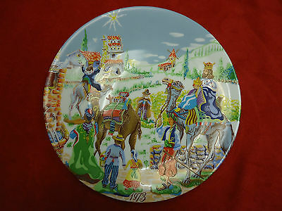 Royal Limoges France by Towle Porcelain Plate The Nativity Christmas 1973