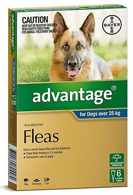 Advantage Flea Control for Dogs Over 25kg
