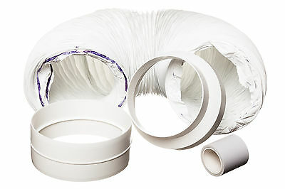 3 Metre Universal Budget Portable Air Conditioner Vent Hose Duct Extension Kit