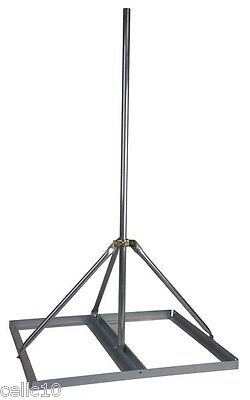 """Non-Penetrating Antenna Mast Roof Mount with 2"""" x 60"""" Mast - EZ NP-60-200"""