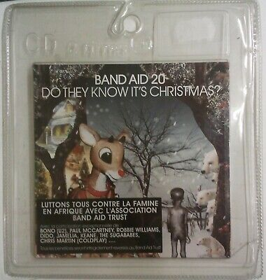 """Band Aid 20 Do They Know It's Xmas? Cd-Single Francia 2004 con """"blister"""""""