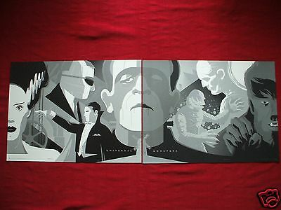 Universal Monsters Tom Whalen Complete Art Print Folio Variant Halloween Mondo