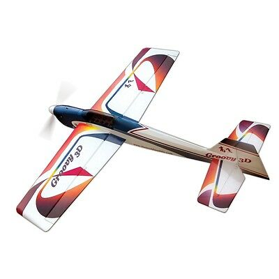 THE WORLD MODELS GROOVY 3D EP Radio Control Airplane 3-cell