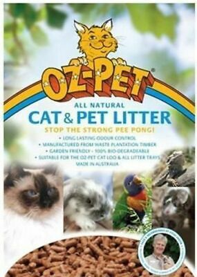 Oz Pet Cat Recycled Paper Litter Bag - Also for Kitten, Ferret, Rat - 15kg