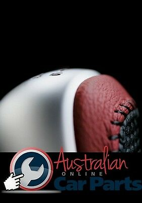 Commodore Ve Gear Knob & Boot Leather Manual Red Hot V8 6 Spd New Genuine Holden