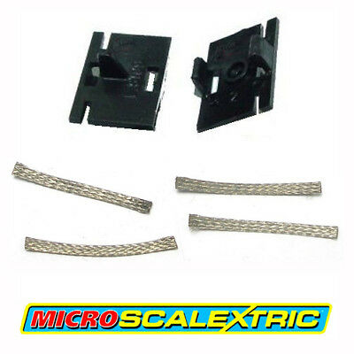 MICRO SCALEXTRIC 1:64 Spares - Guide Blade Plates & Pick-up Braids Brushes W1573
