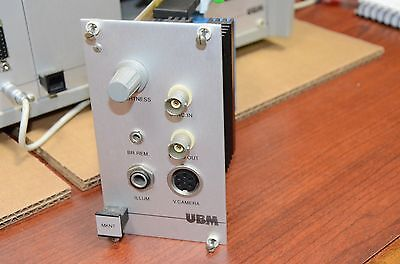 UBM Inspection Module UBC14 UBC-14 MKNT Video Camera 93A809208A G3A90G208A