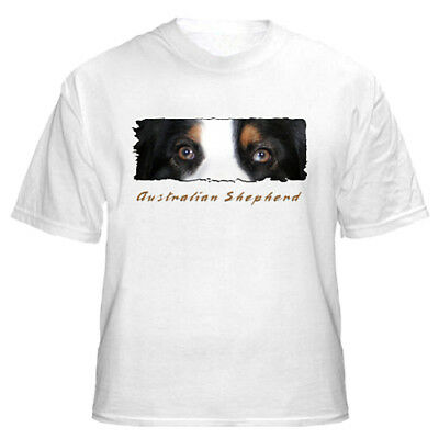"Australian Shepherd   tri  # 3   ""Eyes Have It""   custom   T shirt"