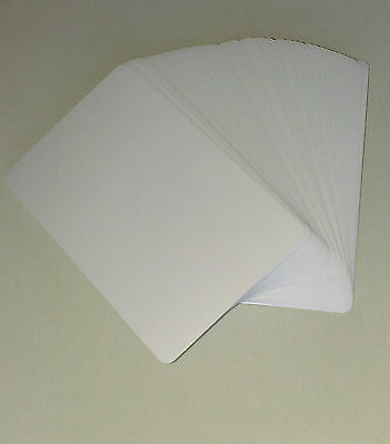 Blank Playing Cards (A new set of 50 blank playing cards - blank on both sides!)