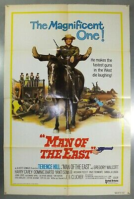 Man Of The East -Terence Hill / Yanti Somer- Original American 1Sht Movie Poster
