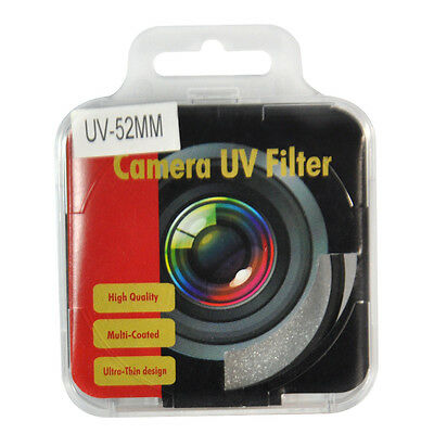 52mm High Quality UV Filter Lens Protector 52 mm for Canon NIkon Sony Camera