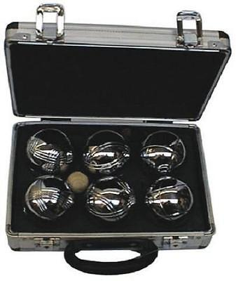New Garden Boules / Petanque Set of 6 in a Sturdy Case. Regulation Size & Weight