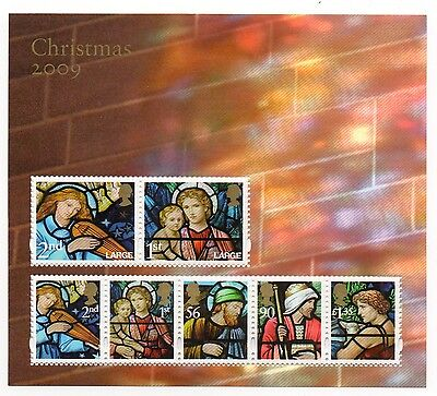 GB 2009 Christmas unmounted mint mini / miniature sheet MNH m/s stamps